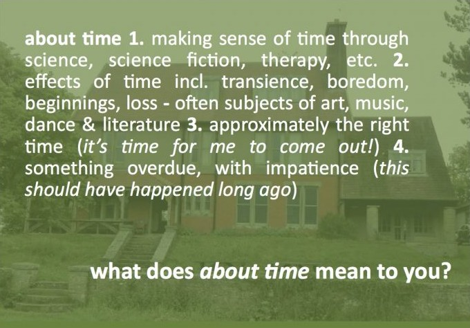About time dictionary definition