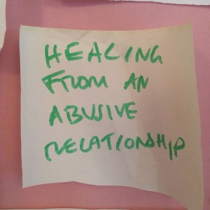 Healing from abusive relationship