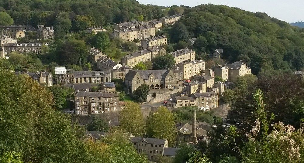 A view over Hebden Bridge