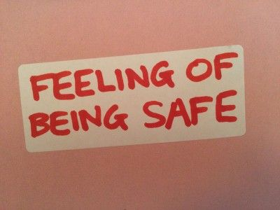 Feeling of being safe